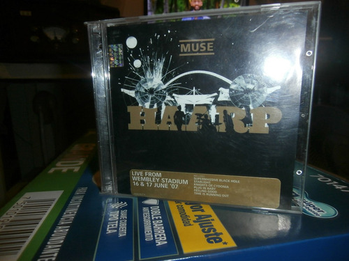 muse   discos cd doble live wembley