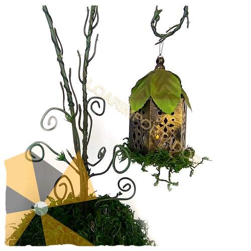 musgo decoracion souvenir centro bolsa de 50 grs