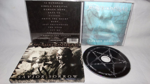 mushroomhead - savior sorrow (slipcase hologram cover megafo