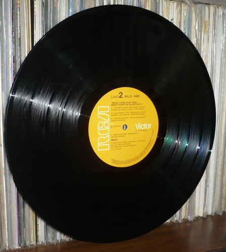 music from star trek & the black hole lp meco monardo