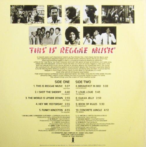 music [vinilo] reggae