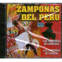 Cdm Zampoñas Del Perú (cd Nuevo Y Sellado)