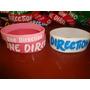 Subasta 3 Pulseras De Sillicona One Direction Importadas