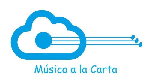 música a la carta, recarga de ipod, pendrive o la nube