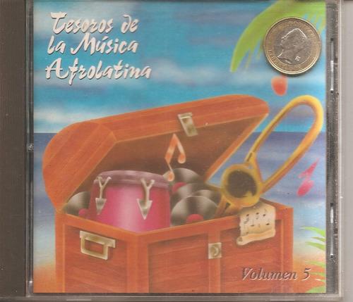 música afrolatina - cd original -  un tesoro musical