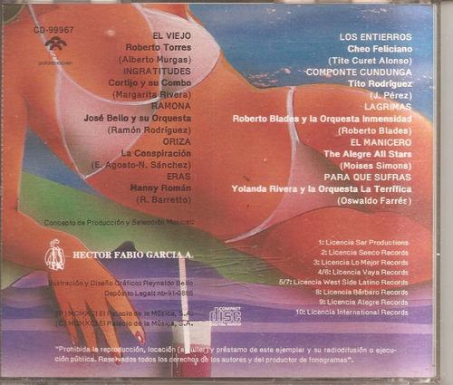 musica afrolatina - cd original -  un tesoro musical