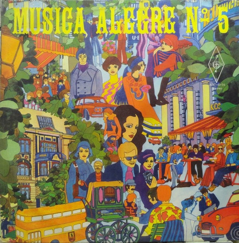 musica alegria nº5 lp santa cecilia 1976 estéreo