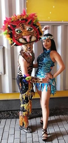 musica, bailarines del carnaval de barranquilla show en vivo