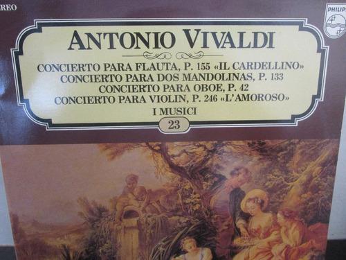 musica clasica  lp vinilo antonio vivaldi concierto