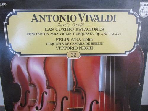 musica clasica  lp vinilo antonio vivaldi violin