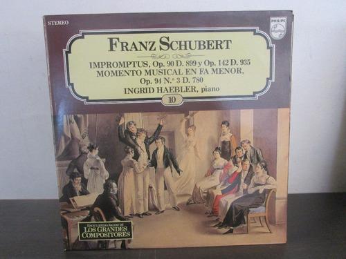 musica clasica  lp vinilo franz schubert