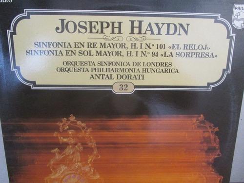musica clasica  lp vinilo joseph haydn sinfonia