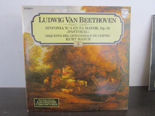 musica clasica  lp vinilo ludwig van beethoven sinfonia
