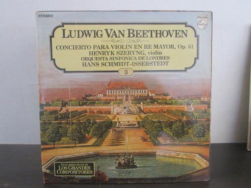 musica clasica  lp vinilo ludwig van beethoven violin