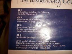 musica clasica  tschoikowky  collection  4cd   sellados
