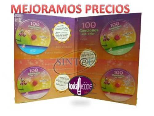 musica con valores   canciones con valor 3 audio + 1 cd rom