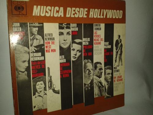 música desde hollywood. año de impresión 1963.