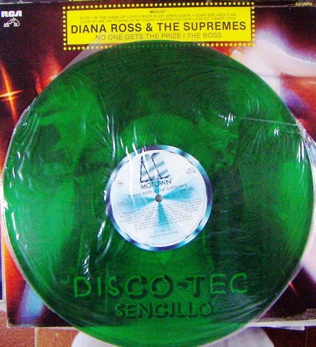 musica disco, diana ross, & the supremes, maxi 12´,