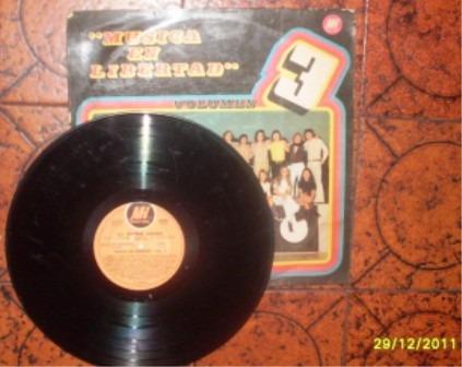 musica en libertad vol. 3, vinilo original...