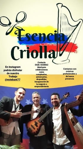 musica en vivo grupo de show criollo,musica venezolana
