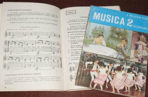 música francisco pulgar vidal 1° 2° secundaria 2 tomos