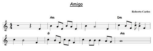 música instrumentos partituras