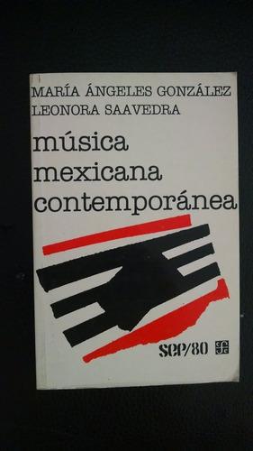 música mexicana contemporánea, maría ángeles-leonora