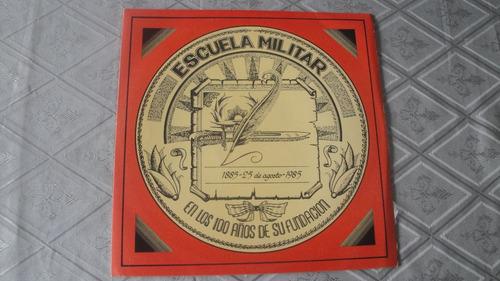 musica militar disco vinilo banda escuela militar 100 años
