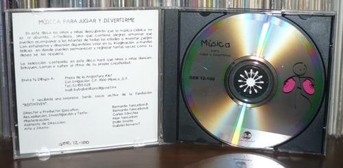 musica para jugar y divertirme cd