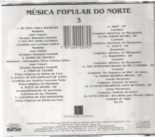 musica popular do norte vol.3