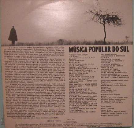 música popular do sul - nº 3 - 1975