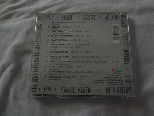 musica progressiva espanhola cd importado maquina smash prog