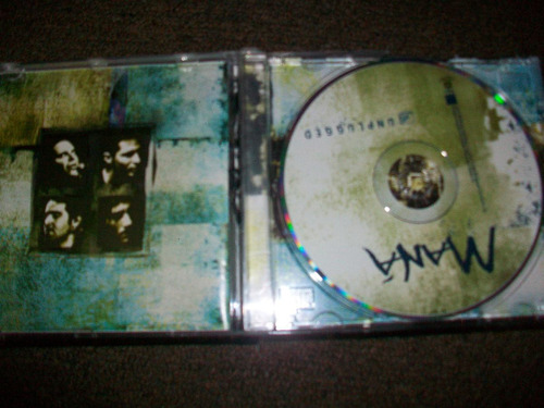 música rock en cd original, grupo maná