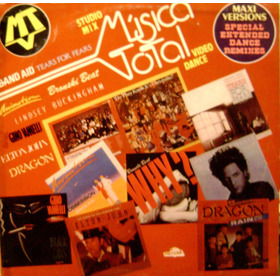 Musica Total Maxi Versions Special Extended Dance Remixed Lp