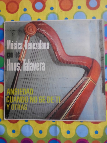 musica venezolana con los hermanos talavera lp