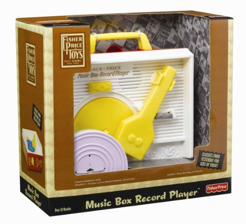 música y sonido,juguete musical fisher-price amarillo..