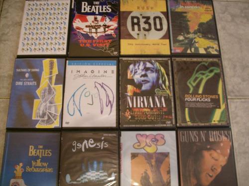 musicales u2, metalica, rush, queen, black sabat, sex pistol