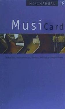 musicard(libro )