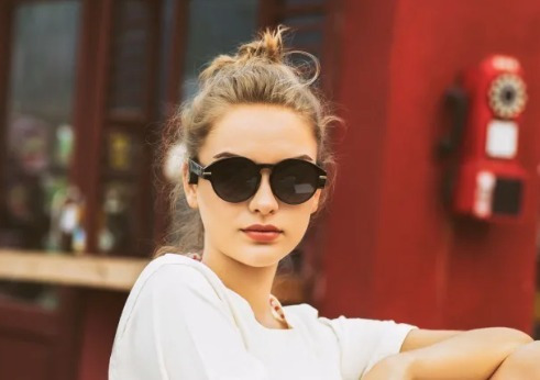 musiclens - óculos com bluetooth fone condução óssea