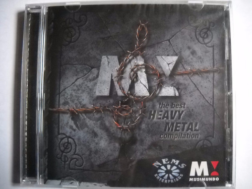 musimundo heavy metal cd gamma ray, strato, nightwish.etc.