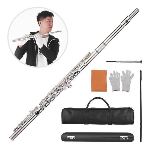 muslady 17- agujero concierto c flauta abierto / cerrado por