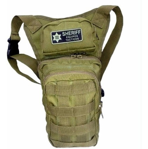 muslera bolso táctico o morral portaarma uso militar o civil