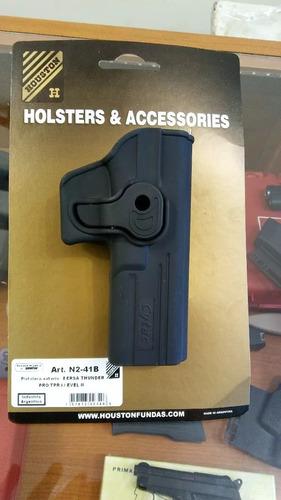 muslera houston +pistolera nivel2 bersa glock beretta taurus