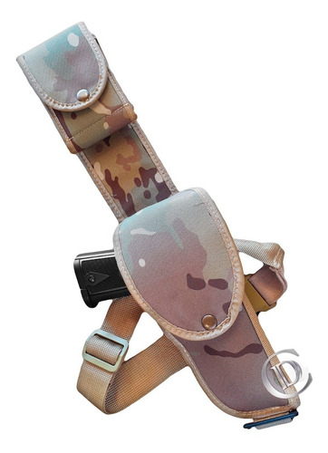 muslera pistolera universal reglamentaria cargo multicam