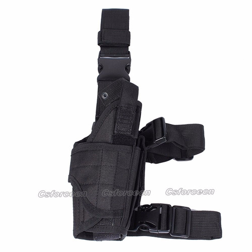 muslera tactica porta pistolera y cargador pierna derecha ne