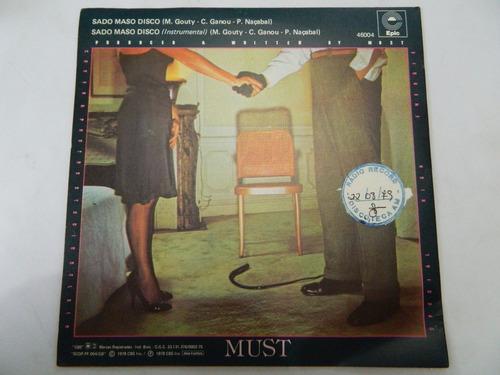 must 1978 sado maso disco - compacto ep 12