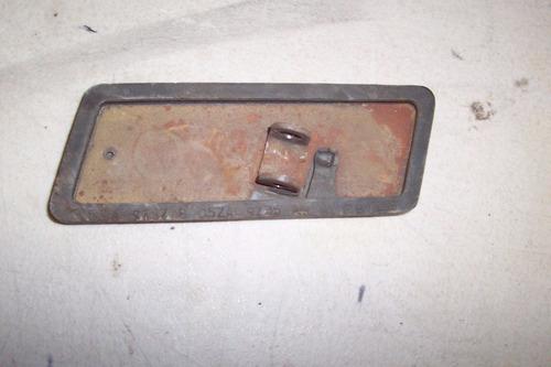 mustang 67 68 pedal acelerador
