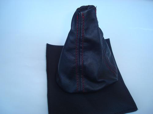 mustang 74-78 funda piel palanca velocidades toma de ,emblem