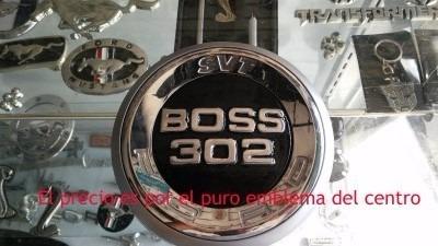 mustang boss 302 emblema cajuela metalico 2010 en adelante