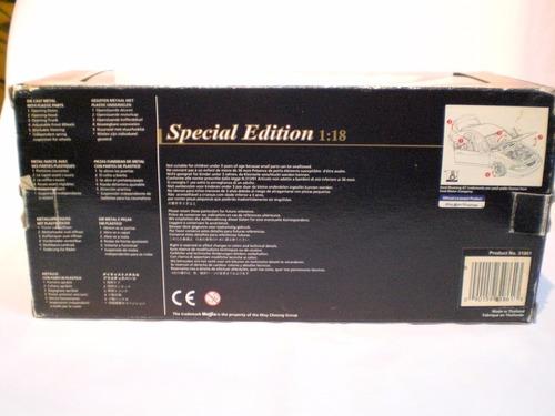 mustang gt convertible 1999 escala 1.18 maisto